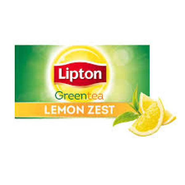 Lipton green tea lemon zest 100 tea bags