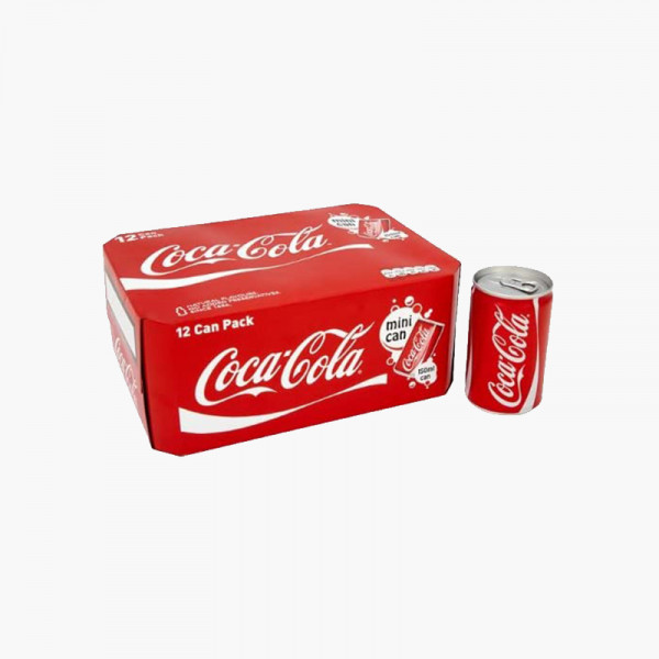 Coke Can 330ML (Pack of 12)