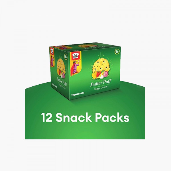 Butter Puff Veggie Snack Pack Biscuit Box