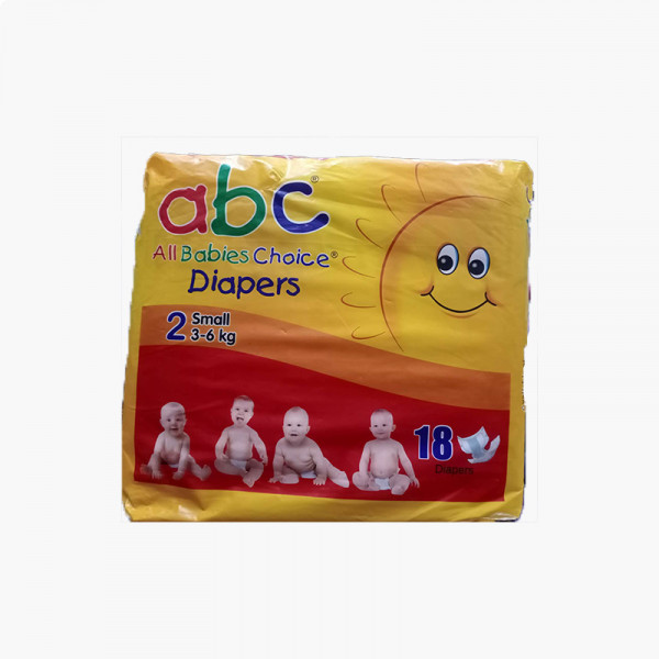 Abc Pampers Small 18 Pcs