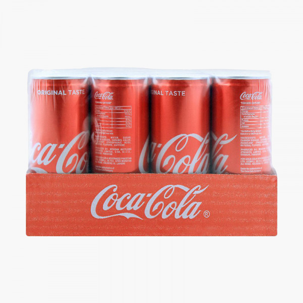 Coca Cola (Coke Zero) Can 250 ml X 12