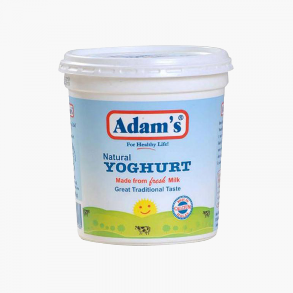 Adams Yogurt Plain 400GM