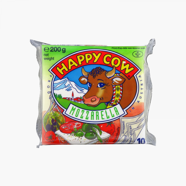 Happy Cow Cheese Slices 200 GM