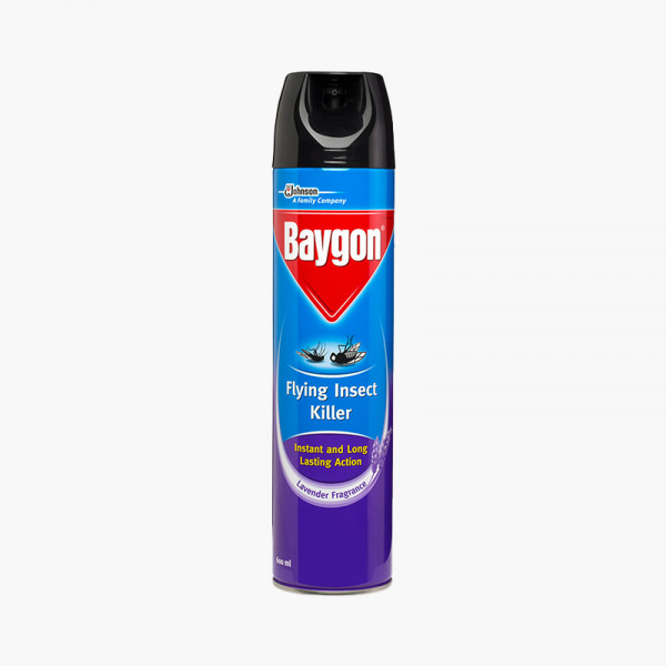 Baygon Flying Insect Killer Aerosol 600 ml Can IMP