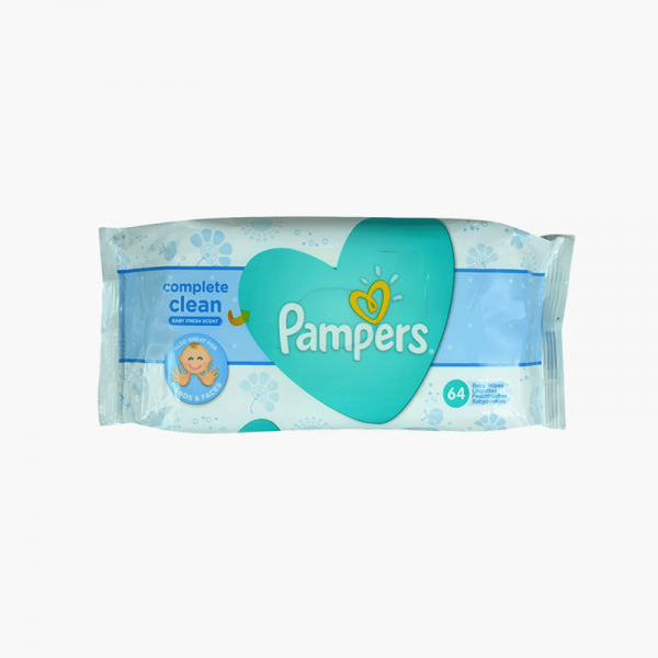 Pampers Wipes 64 Pcs