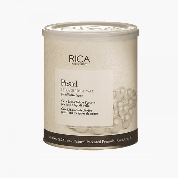 Rica Lipsoluble Wax Pearl For All Skin Types 800 ml