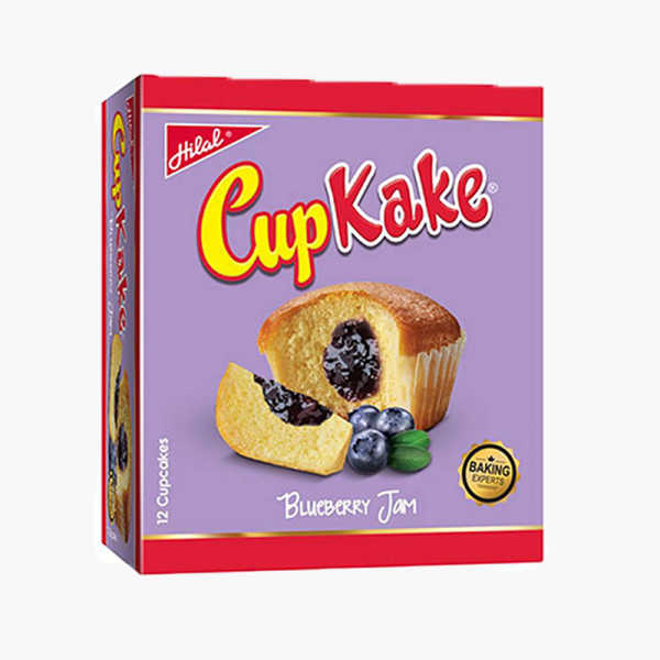 Hilal Cup Cake Blue Berry 1X12